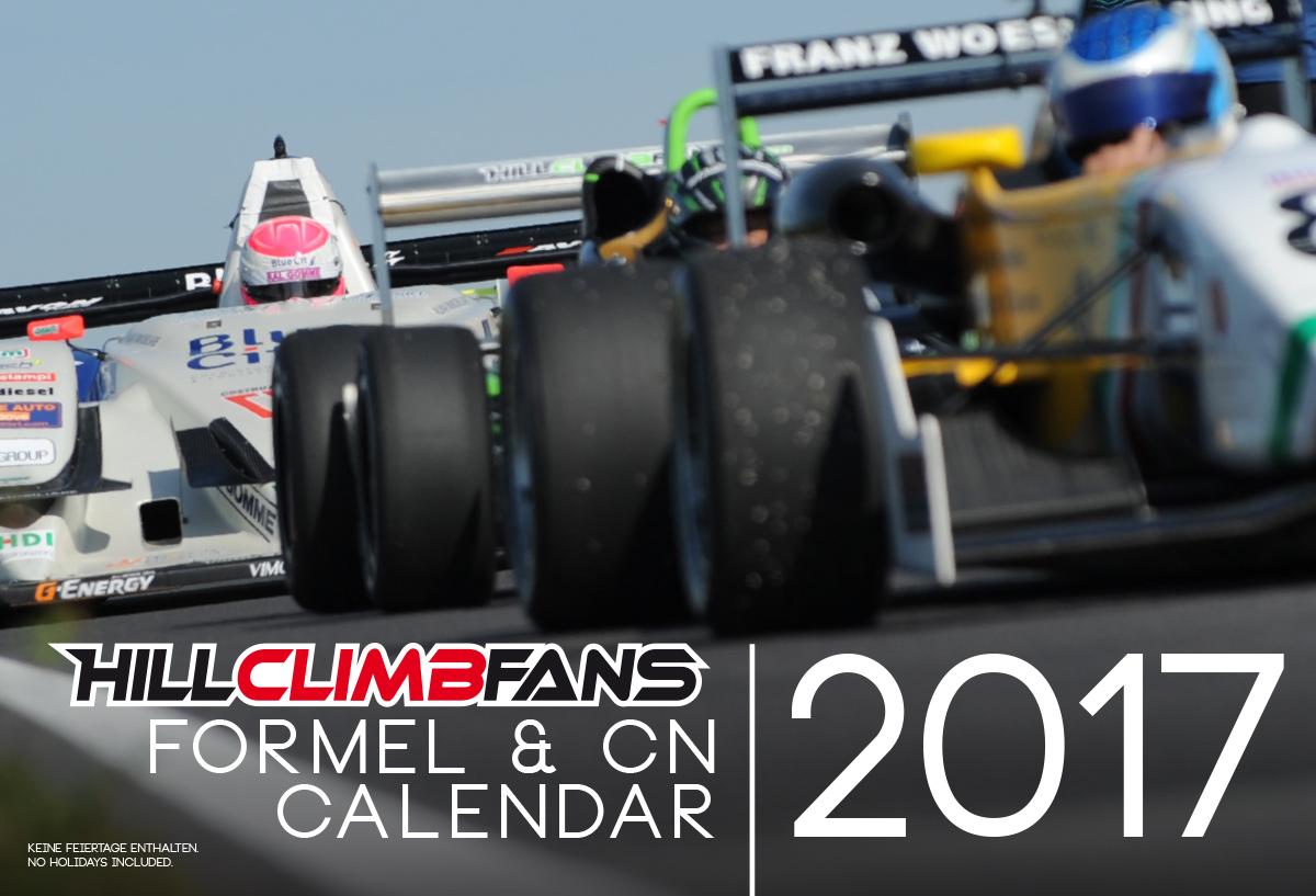 Formel & CN Calendar 2017 - HILLCLIMBFANS